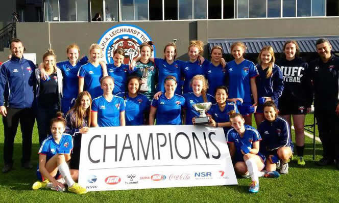 Manly United Reserve Grade ladies grand final review