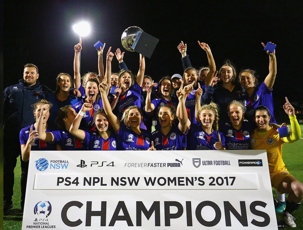 Manly United crowned 2017 PS4 NPL NSW Women's Champions | Manly