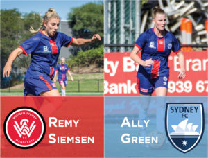 W-League Signing – AG & RS